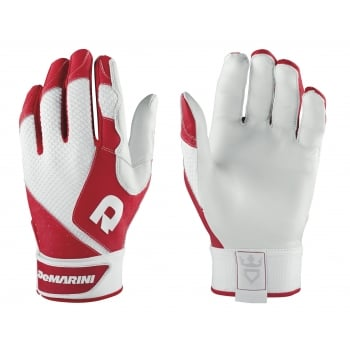 DeMarini Phantom Batting Gloves - Red