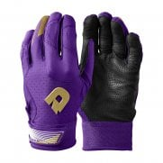 DeMarini CF Batting Gloves - Purple