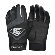 Louisville Genuine Batting Gloves - Black