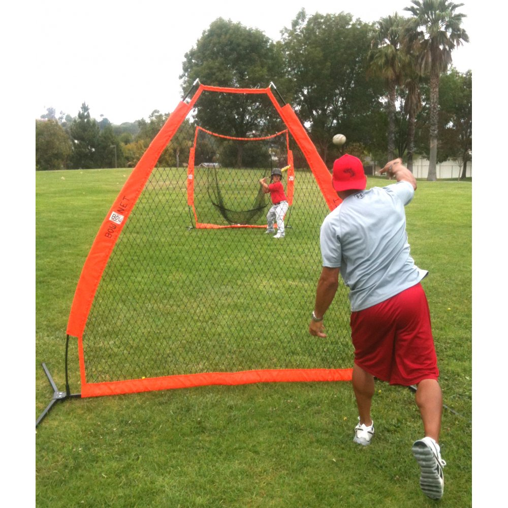 Softball C Screen : Bow net bownet pitching screen baseball accessories from