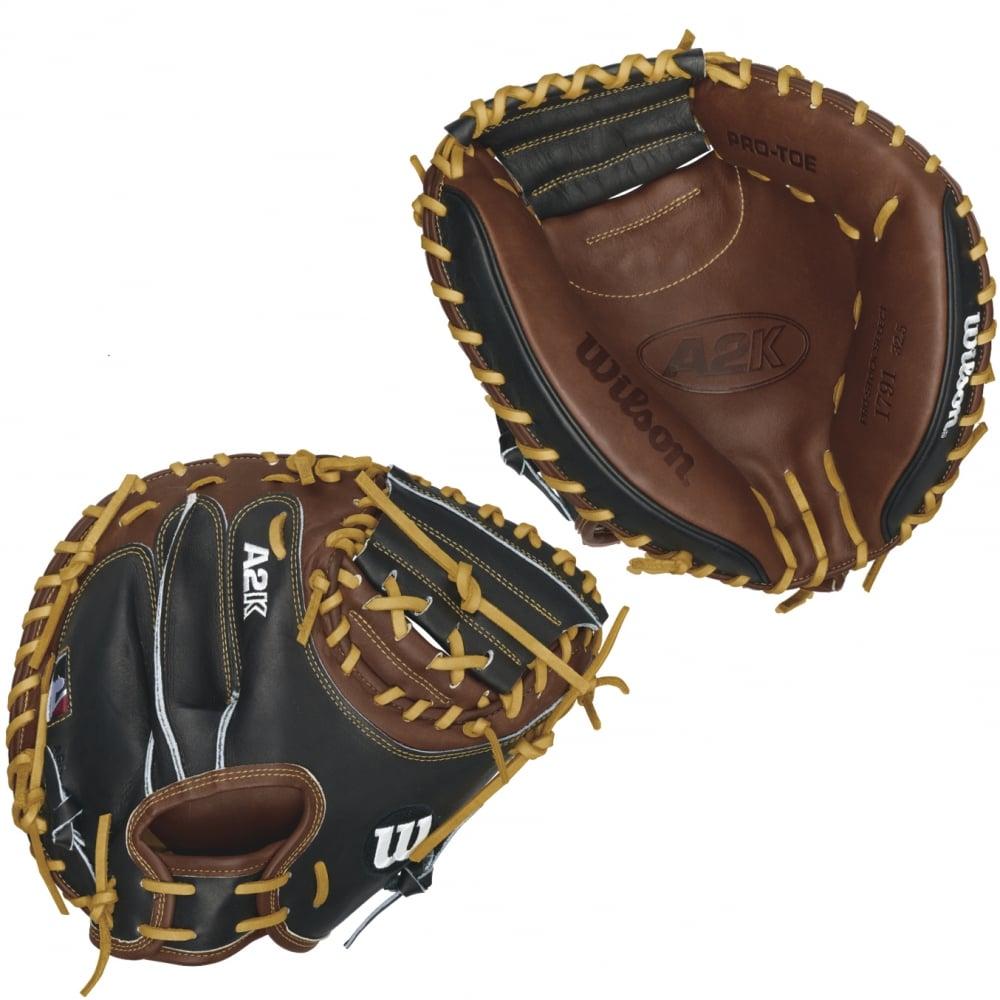 Wilson A2k Pro Catchers Mitt Baseball Gloves From The Baseball Shop Uk